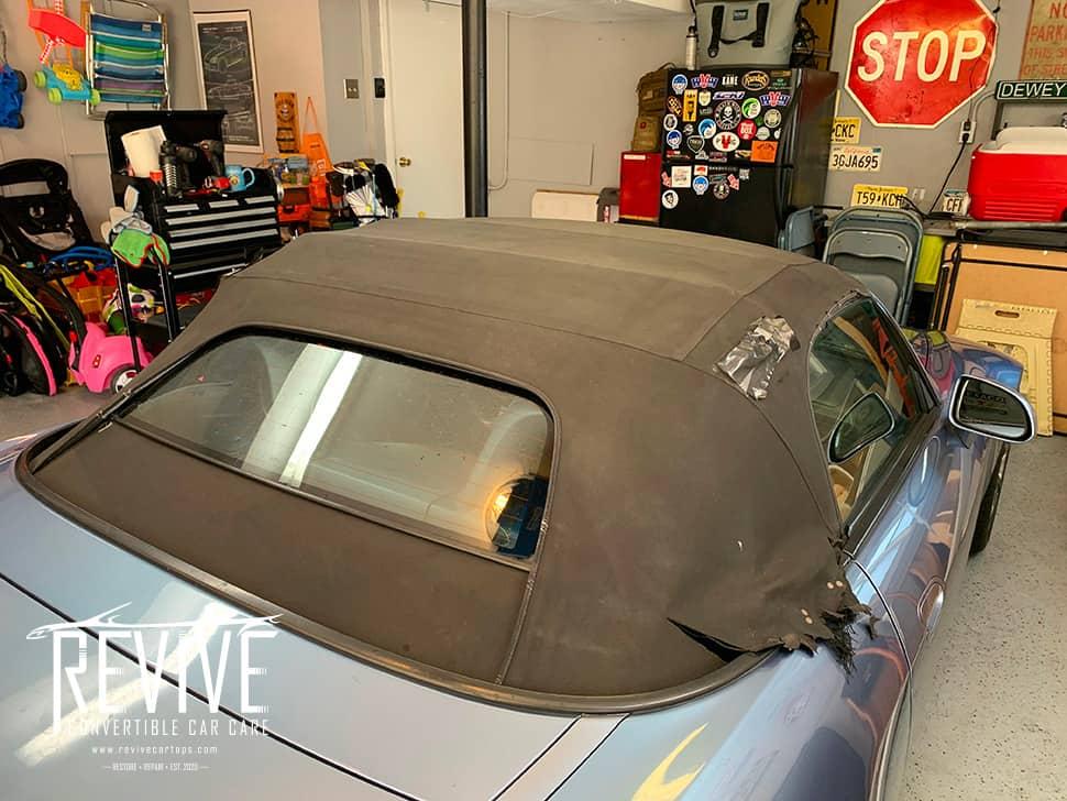 repair convertible roof